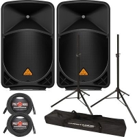 Active speakers Behringer Eurolive B115W Bluetooth noma (pāris)