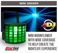 ADJ Mini Dekker rent