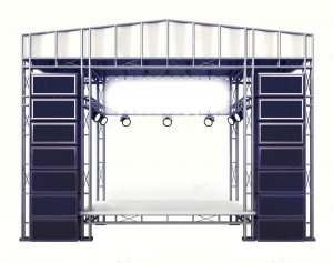 Stage and stage platforms rental