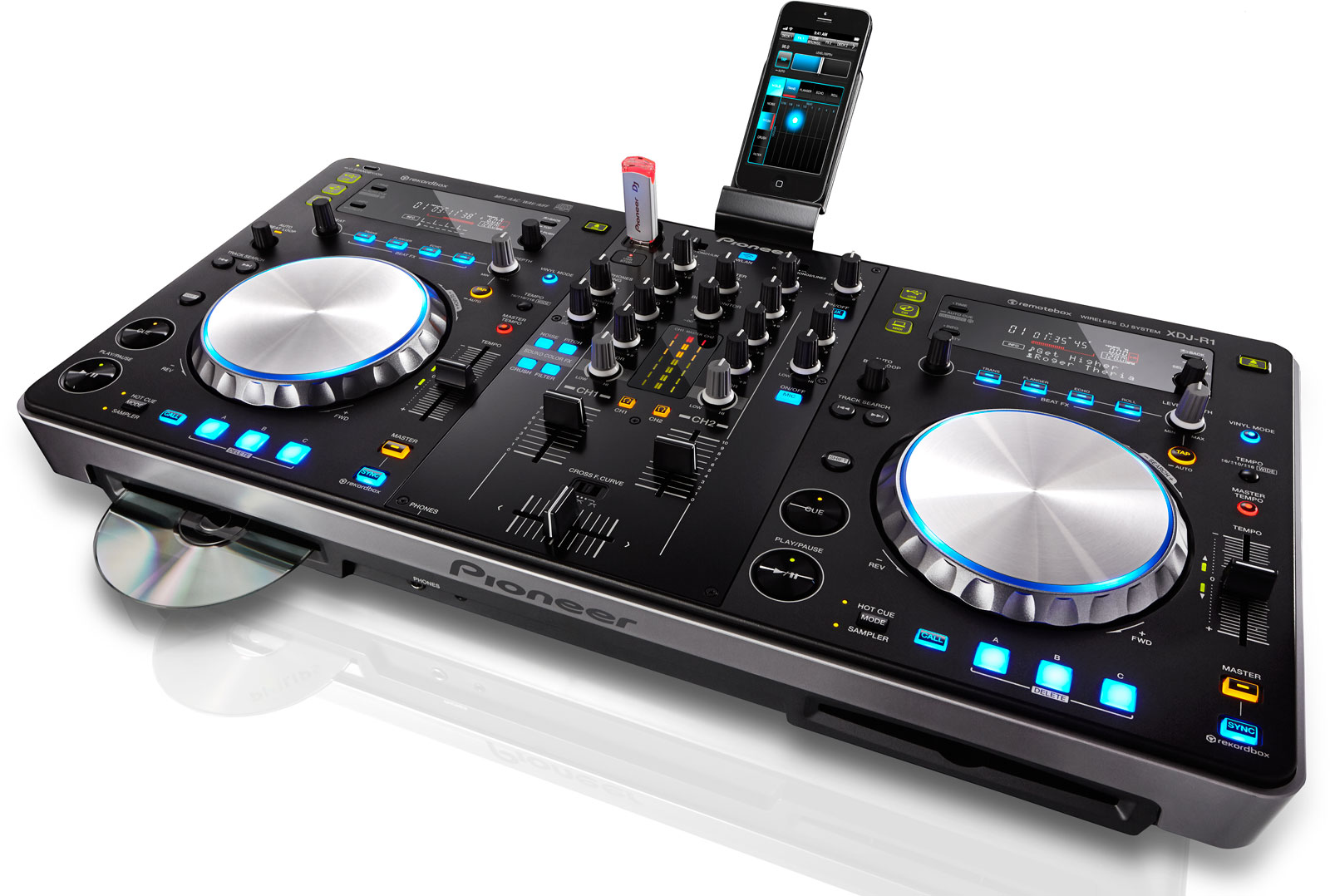 Pioneer XDJ-R1 DJ work station rental