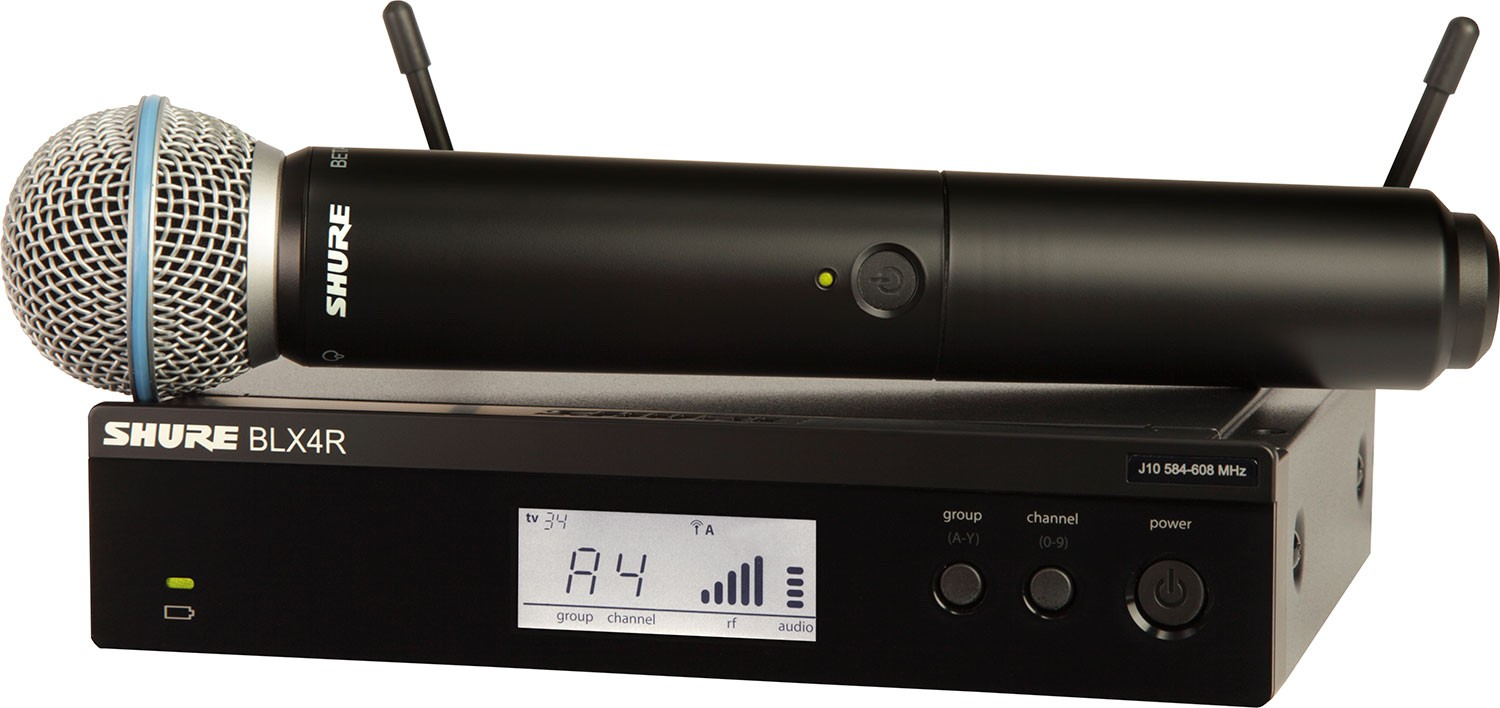 Wireless Microphone system Beta 58A rental