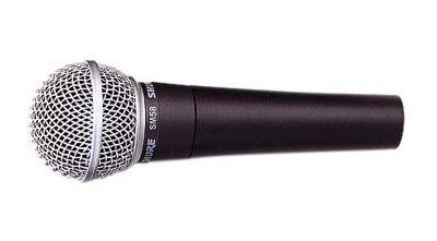 Microphone SHURE SM58 rental